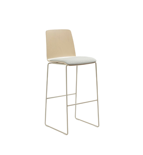 Pit bar stool