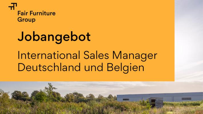 JOBANGEBOT – International Sales Manager